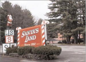 Santa Land Entrance